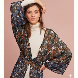 NWOT Anthropologie kimono